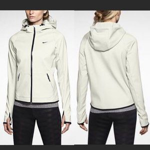 Nike Ivory & Black Hypertech Storm Fit Jacket M